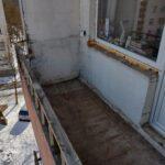 Balkono langų demontavimas