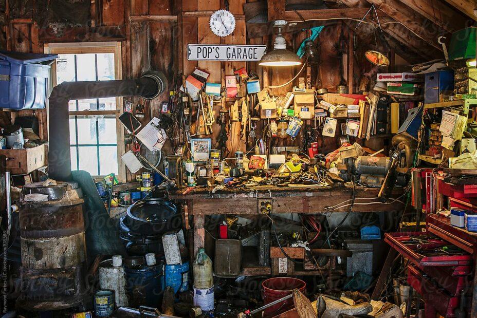Garažo tvarkymas
